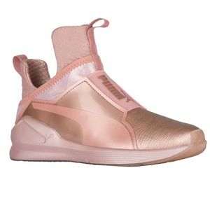 Puma Kylie Jenner Fierce Rose Gold 7.5 Shoe